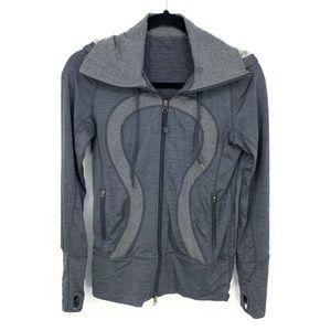 Lululemon Full Zip In Stride Activewear Jacket